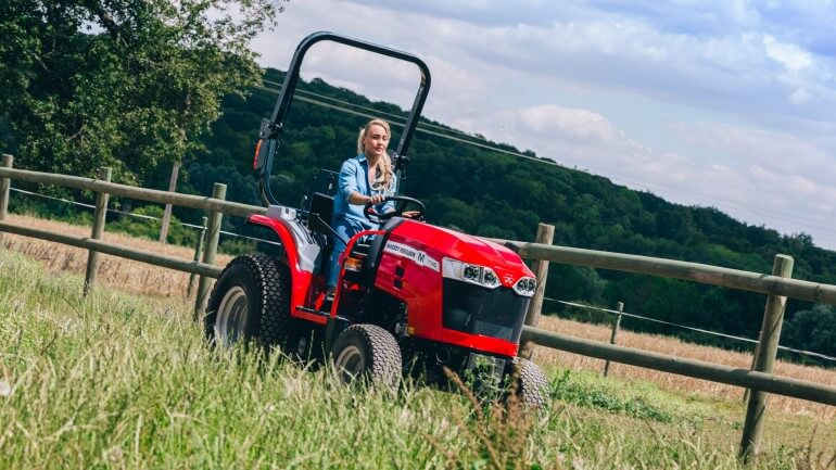 Massey Ferguson MF 1700 M Series combines compact dimensions with powerful performance