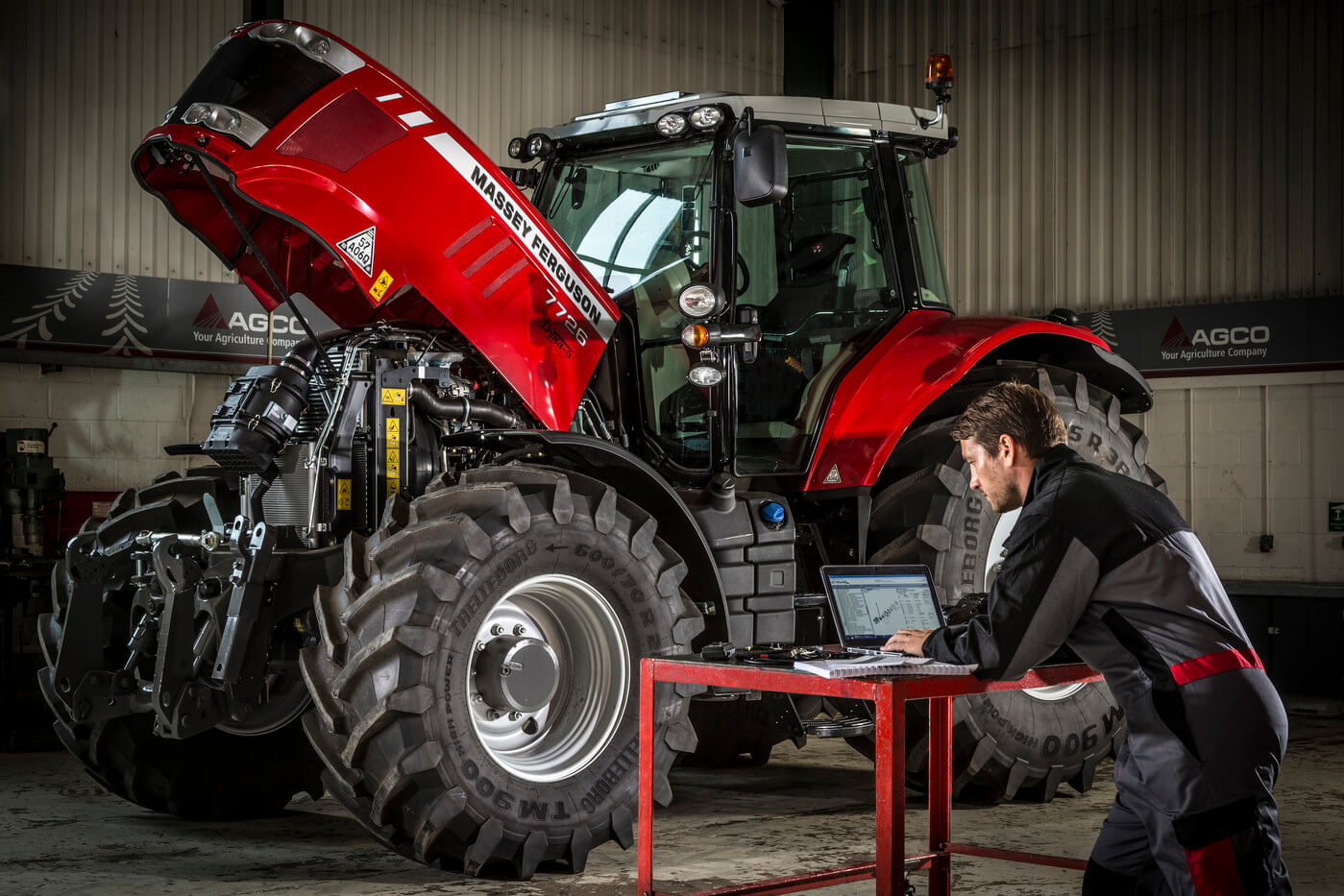 Experienced, Massey Ferguson trained technicians available for on or off-site servicing